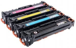 Reprint.by - Заправка картриджей CB540A для HP Color LaserJet CP1515 / 1518. При заправке комплекта - скидка 15%.