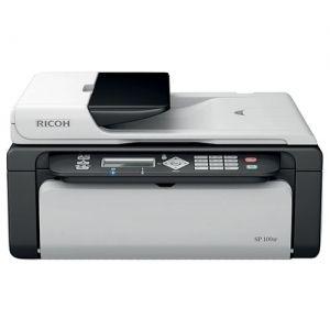 Полная стоимость заправки картриджа SP101E для принтера Ricoh Aficio SP 100SF / 100SU выезд по Минску - бесплатный. Качественный тонер. Гарантия на заправку до полного окончания тонера.